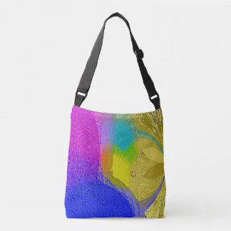 """Bolsa Ajustável """"Mistura colorida da textura"""" em uma sacola"""
