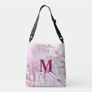 Bolsa Ajustável Monograma cor-de-rosa que Wedding o saco de Totte