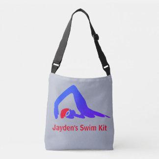 Bolsa Ajustável Nadador do estilo livre, jogo da natação,