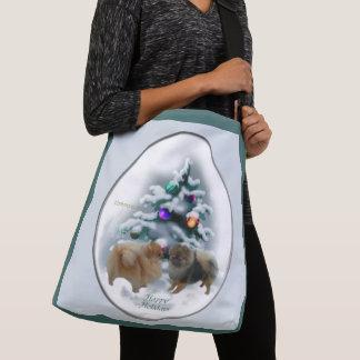 Bolsa Ajustável Natal de Pomeranian