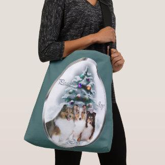Bolsa Ajustável Natal de Sheltie do Sheepdog de Shetland