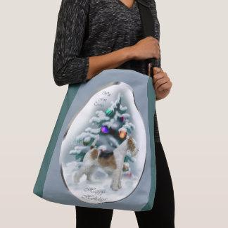 Bolsa Ajustável Natal do Fox Terrier do fio