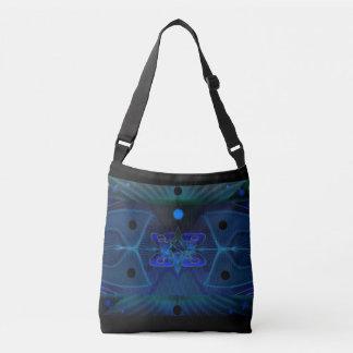 Bolsa Ajustável Nave espacial Interior da arte transversal do saco
