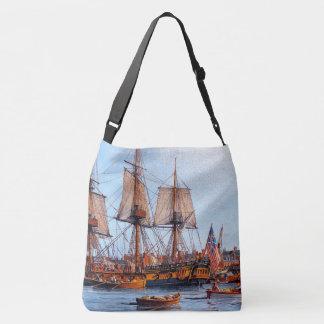 Bolsa Ajustável Navegando a sacola suprida do porto do oceano do