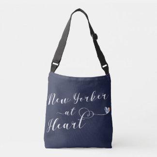 Bolsa Ajustável Nova-iorquino na sacola do coração, NYC