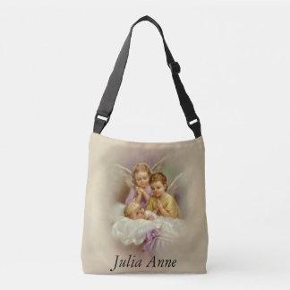 Bolsa Ajustável Nuvem personalizada do bebê dos querubins do