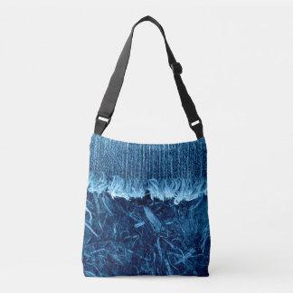 Bolsa Ajustável O azul de índigo Textures o saco unisex de
