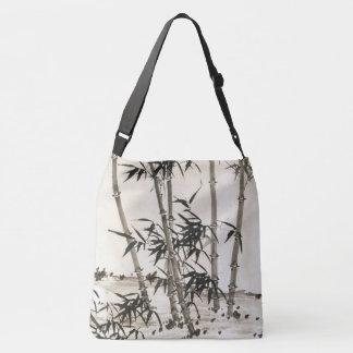 Bolsa Ajustável O bambu asiático sae da sacola do chinês da