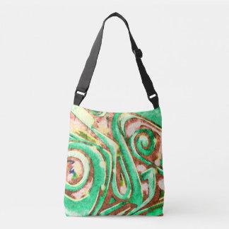 Bolsa Ajustável O ciclone verde #25 - toda sobre - imprima o saco