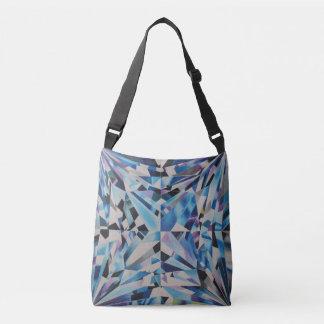 Bolsa Ajustável O diamante de vidro toda sobre - imprima o saco
