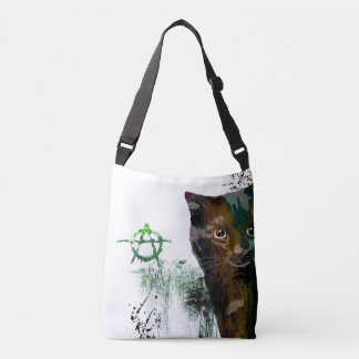 Bolsa Ajustável O gato №1 toda sobre - imprima o saco para o