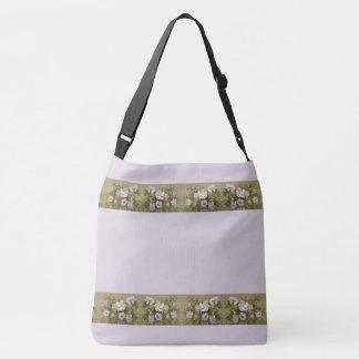 Bolsa Ajustável O hibiscus roxo floresce a sacola floral da