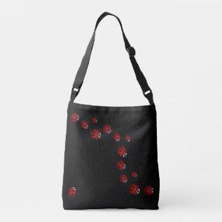 Bolsa Ajustável O joaninha ensaca sacolas bonitos da arte da