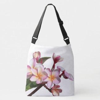 Bolsa Ajustável O Plumeria tropical floresce a sacola