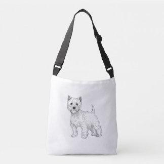 Bolsa Ajustável O saco ocidental do cão de Terrier das montanhas,