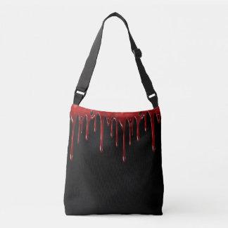 Bolsa Ajustável O sangue de Falln goteja o preto