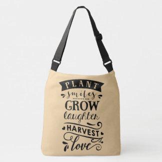 Bolsa Ajustável O sorriso da planta cresce o saco do amor da