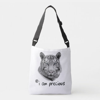 Bolsa Ajustável O tigre branco eu sou precioso