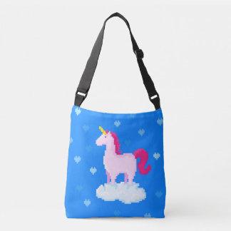 Bolsa Ajustável O unicórnio cor-de-rosa bonito está em uma nuvem