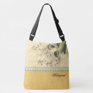 Bolsa Ajustável Orquídeas japonesas do leopardo do impressão de