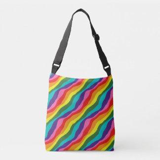 Bolsa Ajustável Padrões do arco-íris