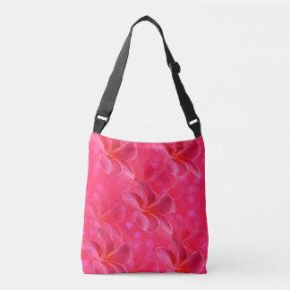 Bolsa Ajustável Paixão cor-de-rosa do Frangipani, saco para o