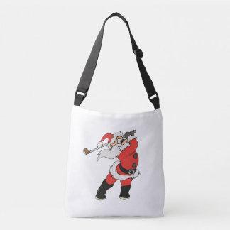 Bolsa Ajustável Papai Noel que joga o golfe