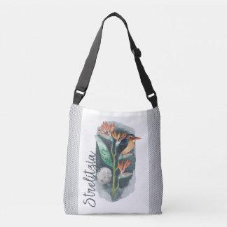 Bolsa Ajustável Pássaro da aguarela do paraíso