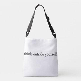 Bolsa Ajustável pense fora do senhor mesmo o saco strappy