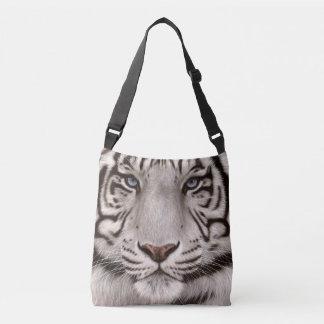 Bolsa Ajustável Pintura branca do tigre
