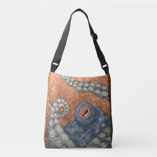 Bolsa Ajustável Polvo pintado mão