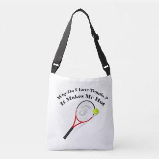 Bolsa Ajustável Porque faz o tênis do amor de I. Faz-me quente
