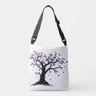 Bolsa Ajustável Purple Leaves