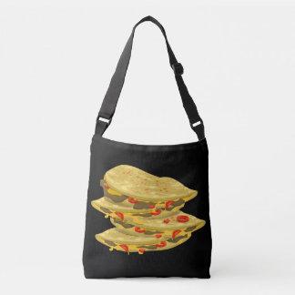 Bolsa Ajustável Quesadilla picante da comida do pulso aleatório