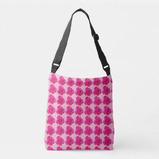 Bolsa Ajustável rosas cor-de-rosa bonitos toda sobre - imprima o