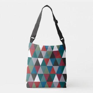 Bolsa Ajustável Saco colorido dos triângulos
