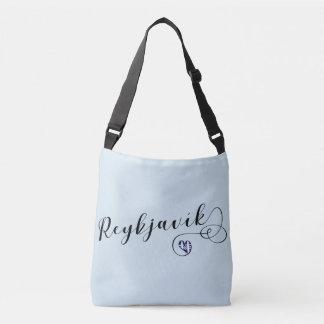 Bolsa Ajustável Saco customizável do coração de Reykjavík,
