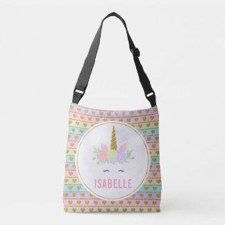 Bolsa Ajustável Saco customizável mágico do unicórnio do arco-íris