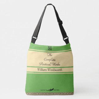 Bolsa Ajustável Saco customizável verde-maçã do estilo do vintage