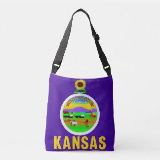 Bolsa Ajustável Saco da bandeira, Kansas