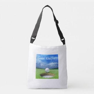Bolsa Ajustável Saco de Goin Golfin Crossbody