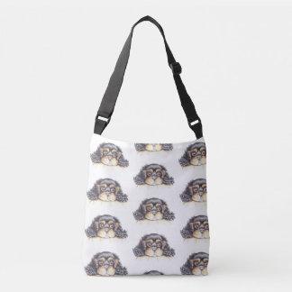 Bolsa Ajustável Saco do Cruz-Corpo com o filhote de cachorro