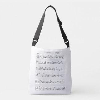 Bolsa Ajustável saco do piano da partitura & das chaves do piano