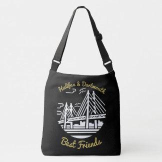 Bolsa Ajustável Saco dos botões dos melhores amigos de Halifax &