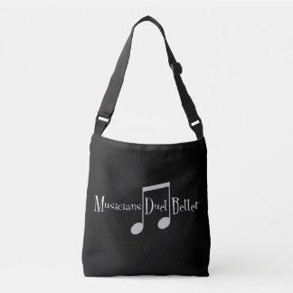 Bolsa Ajustável Saco escuro do estilingue do dueto (notas)