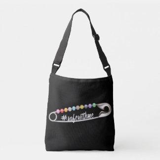 Bolsa Ajustável Saco escuro do estilingue do #SafeWithMe