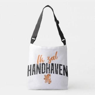 Bolsa Ajustável Saco holandês da divisa de Ik Zal Handhaven