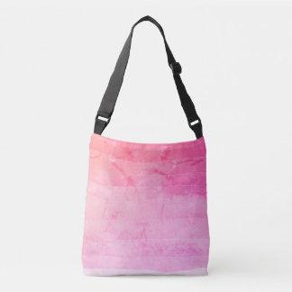 Bolsa Ajustável Saco marmoreado do ombre batik cor-de-rosa bonito