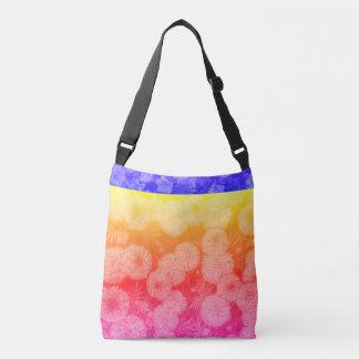 Bolsa Ajustável saco Multi-colorido do design floral