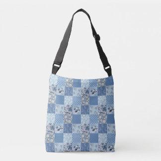 Bolsa Ajustável Saco para o transporte de cadáveres floral azul da